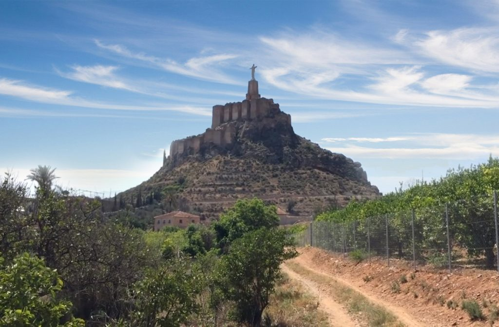 Visita guiada Murcia: Fortaleza de Monteagudo